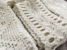 Old lace Handicraft, Fishing, Villa, Blanket, Crochet, Lace, Beautiful, Craft, Arts And Crafts