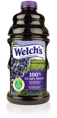 """100% Grape Juice...if you want to keep the stomach bugs away, drink 1 glass per day..(2 during an outbreak), the """"bug"""" doesn't like the ph of grape juice won't live in your digestional tract."""