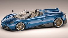 The open-top version of the Pagani Huayra weighs about 175 pounds less than the coupe, thanks to a carbon-titanium tub and a lighter suspension. Its V-12 biturbo engine, sourced from Mercedes-AMG, has been upgraded with better throttle response and 33 more horsepower, raising the output to 764 hp. Pagani offers two roofs options: a glass-and- carbon-fiber hardtop and an automatic fabric soft top. The company will build only 100 examples of the $2.4 million supercar, and each is already…