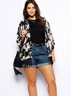 9 Curvy Girl Fashion Hacks to Get You Through Summer. Look- Outfits ... 21b065840814