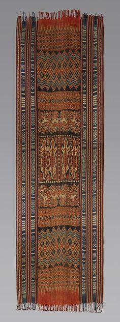 prior pinner: Ceremonial Hanging (Porilonjong) [Rongkong Toraja people, Sulawesi Island, Indonesia] (1990.335.19)