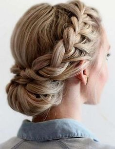 Wedding Hairstyles For Long Hair, Boho Wedding Hair, Cute Hairstyles, Elegant Wedding Hair, Headband Hairstyles, Braided Hairstyles, Boho Bridesmaids, Bridesmaid Hair, Prom Hair