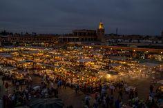 Djemaa el Fna   #Marrakech Public Square, Paris Skyline, Dolores Park, Paradise, Magic, Travel, Marrakech, Travel Tips, Heart
