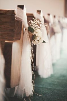 burlap and baby's breath by jaclyn