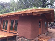 Sustainable Architecture, Residential Architecture, Contemporary Architecture, Earth Bag Homes, Recycled House, Mud House, Little Cottages, Natural Homes, Dome House