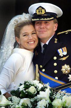 Au Mariage De Maxima Zorreguieta Et Willem Alexander Des Pays Bas Le 2 Fevrier 2002 32