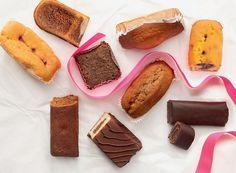 As calorias dos minibolos prontos para comer...