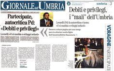 <p>L'articolo di Andrea Luccioli per il Giornale dell'Umbria di oggi</p>