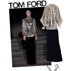 A fashion look from September 2016 by andreearaiciu featuring Tom Ford, Charlotte Chesnais and Jennifer Fisher Jennifer Fisher, Tom Ford, Sequin Skirt, Charlotte, September, Fashion Looks, Polyvore, Stuff To Buy, Shopping