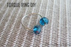 TORQUE RING DIY | MY WHITE IDEA DIY