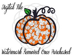 A personal favorite from my Etsy shop https://www.etsy.com/listing/462608716/pumpkin-svg-svg-pumkin-cricut-silhouette