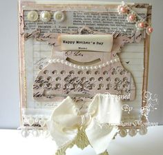 Mother's Day Card - Vintage Typewriter