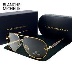 f0f40721308 BM 2017 High Quality Rimless Sunglasses Men Polarized Women UV400 Sunglass  Driving Sun Glasses Brand Designer