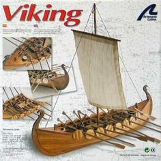 Artesania Latina Viking Ship - Wooden Model Ship Kit