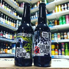 Anti-Venom - 6% IPA & Sublime Chaos - 7% Breakfast Stout from @anarchybrewco available now