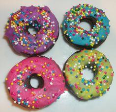 Spring Donuts - Carob Dog Treats
