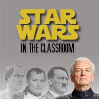 Star Wars in the Classroom is a website for educators and fans alike that provides resources for transdisciplinary teaching and learning with the Star Wars saga.  For nearly thirty years, our team has been integrating the Star Wars saga into history, English/Language Arts, and science classes at the middle school and high school levels.