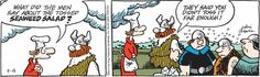 Hagar the Horrible Comic Strip for September 18, 2014 | Comics Kingdom
