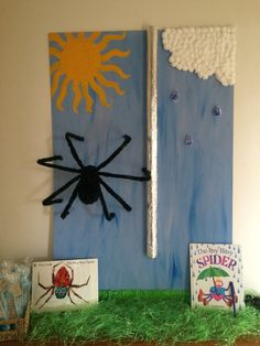 The Itsy Bitsy spider entrance