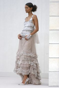 Chanel at Couture Spring 2004 - StyleBistro