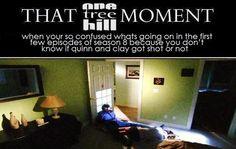 Clay Evans and Quinn James. Clinn. One Tree Hill. Robert Buckley. Shantel VanSanten. OTH. That One Tree Hill Moment.