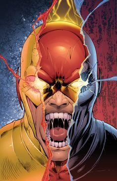 "extraordinarycomics: ""Reverse/Flash/Zoom by Dashmartin. """