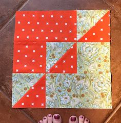 Hi, this month Susan chose our BOM. She saw this block on IG and created a tutorial to go with it. I tried to find a name of this bloc...