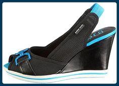 Bjoern Borg Footwear Slingpumps Hillyard schwarz Textil, Groesse:41.0 - Damen pumps (*Partner-Link)