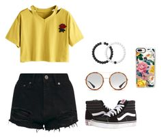 """Untitled #129"" by britney-pitts ❤ liked on Polyvore featuring Vans, Lokai, Gucci and Casetify"