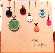 Crafts To Do With Teens - fun crafts for tweens to do at home - Christmas Card Crafts, Homemade Christmas Cards, Christmas Cards To Make, Christmas Gift Wrapping, Christmas Projects, Kids Christmas, Homemade Cards, Handmade Christmas, Holiday Crafts