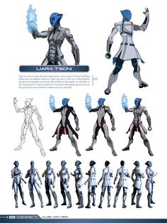 Community Post: Exclusive Look! Mass Effect 3 Character Design