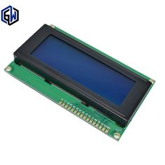 10pcs LCD module Blue 2004 5V LCD  blue provides library files LCD 2004 LCD2004 #Affiliate