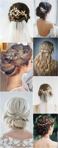 Wedding Hairstyles  Hair Comes the Bride – 20 Bridal Hair Accessories Get Style Advice for Any Budget � See more: http://www.weddinginclude.com/2017/03/hair-comes-the-bride-bridal-hair-accessories-get-style-advice-for-any-