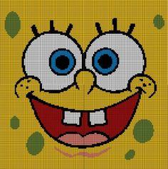 Spongebob Squarepants via Loopaghans Custom Crochet. Click on the image to see more!