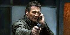"""Best. Prank. Ever.  On Thursday, """"Taken 3"""" star Maggie Grace, who plays Liam Neeson's daughter in the movies, told Conan O'Brien that Neeson is protective of her in real life, too.  -  video of prank phone call by liam neeson as """"taken"""" movie character.     lj"""