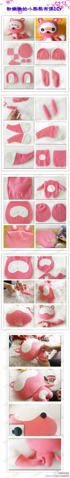 DIY Cute fox plushie