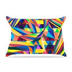 KESS InHouse The Optimist by Danny Ivan Featherweight Pillow Sham Size: