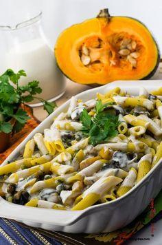 Pasta al forno con verdure, o pasta gratinata