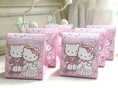 6pcs Sanrio Hello Kitty & Dear Dainel Paper Wedding Favor Boxes Gift Box | eBay