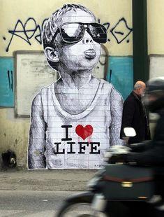 30 Amazing Huge Street Art On Building Walls