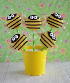 Laura's Bakery: Bijen oreo pops