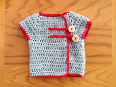 naptime craft: springtime baby sweater