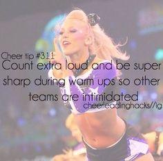 Cheer hacks