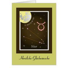 Stier 21. April bis 20. Mai Karte August 22, Avril, Mai, Books, Taurus, Astrology Signs, Cards, Libros, Book