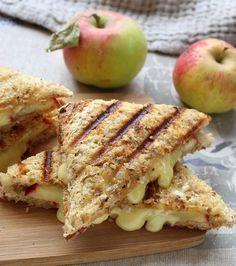 Des croque-monsieurs originaux : croque-monsieur au camembert et aux pommes