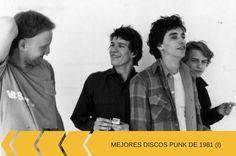 ¿Qué discos punk de 1981 elegiríais? Ramones, Punk Rock, Che Guevara, Blog, Vinyl Records, Bands, Get Well Soon, Events, Musica