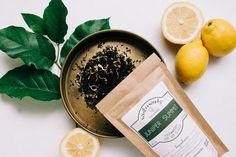 Juniper Summit Handcrafted Tea W/Lemon + Pomegranate Organic Loose Leaf Tea, Tea Companies, Tea Tins, Rose Tea, Tea Blends, Tea Accessories, Vegan Gluten Free, Pomegranate, Spokane Washington