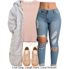 A fashion look from October 2016 featuring Monki t-shirts, Puma shoes and Linda Farrow eyeglasses. Browse and shop related looks.
