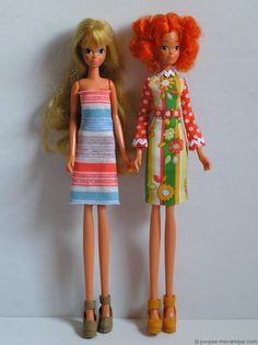 Leggy Dolls. Before my time, but interesting
