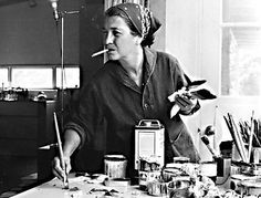 Perle Fine-   Born: 1908; Boston, Massachusetts, United States   Died: 31 May 1988; East Hampton, New York, United States   *Was among the most prominent female artists associated with American Abstract Expressionism.